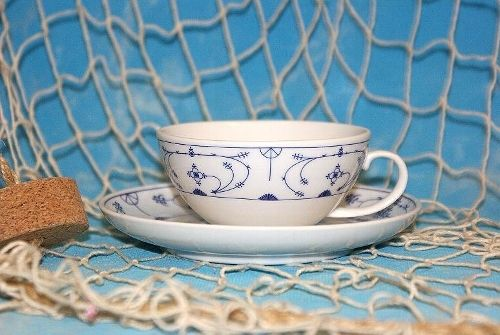 Ostfriesische Teetasse, Indisch Blau, Porzellan, 2er-Set - Anjas ...